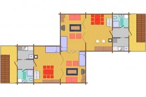Hóbort üdülő: IX-X VIP Apartman faház